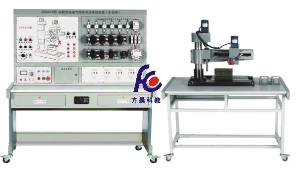 fc-z3040b型摇臂钻床电气技能实训考核装置(半实物)