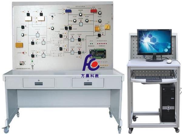 一、系统组成 楼宇冷冻监控系统实验实训装置的控制部分全部采用实物,控制对象采用仿真模型,整个实训装置主要由DDC控制器、指示灯、组态软件、配置软件、控制软件、专用管理电脑等组成。 二、系统特点 能进行各种冷冻冷却水机组及监控系统控制操作的演示、DDC控制器的操作与编程、安装与连接、水泵及各种传感器的安装与连接,系统软件组态、配置与控制,线路的设计与连接、故障的设置、判断及排除等实验和实训,并可与楼宇自控系列中其它设备联网进行各种综合实训。 WiFi无线智能实验室管理考核系统 1、系统采用先进的分布式智能管